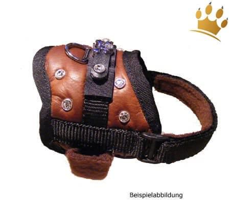 MyDog Hundegeschirr Braun Luxury