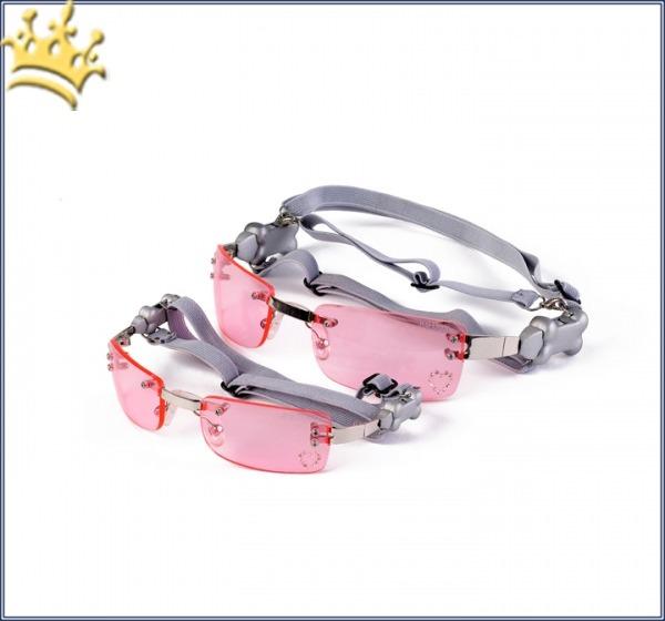 K 9 Optik Hunde-Sonnenbrille Pink