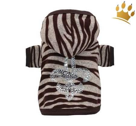 Hundesweater Soft Zebra