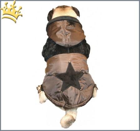 Hundemantel Fluffy Star