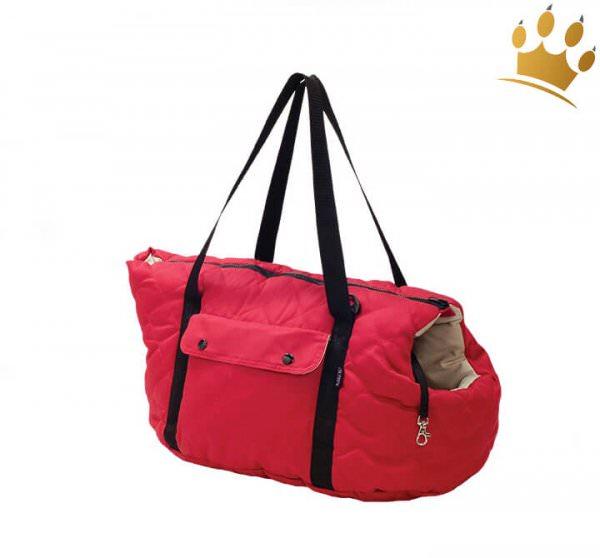 Hundetasche Promenade Bicoloure Red