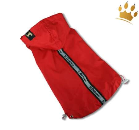 Hunderegenjacke Famous Rot