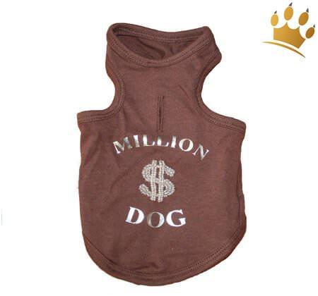 Hunde-Shirt Million$ Dog