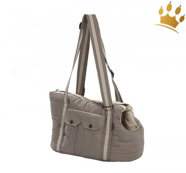 Hundetasche Sac Vadrouille Taupe