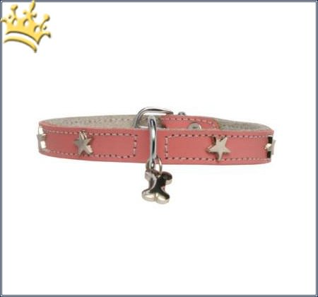 Hundehalsband Silverstar Rosa