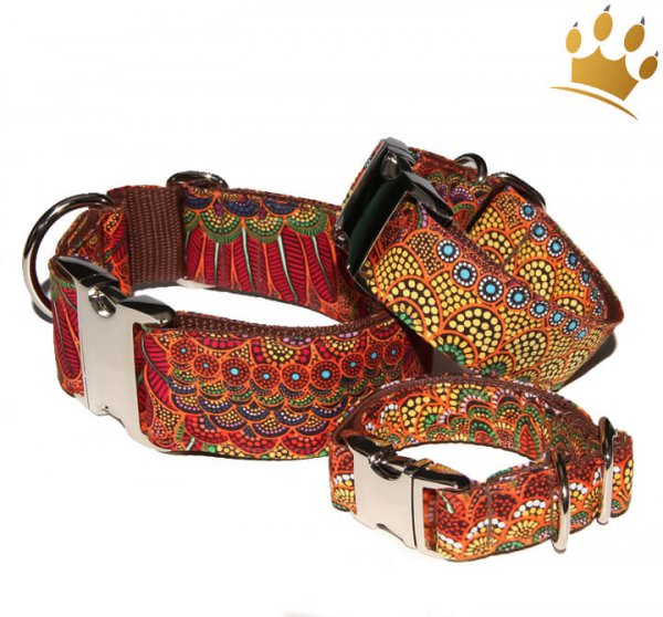 Hundehalsband Magia del Fuoco