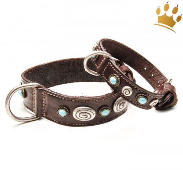 Malucchi Hundehalsband Brocante
