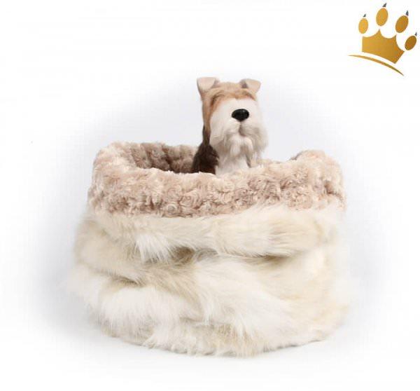 Hunde Cuddle Cup Cream Fox Curly Sue
