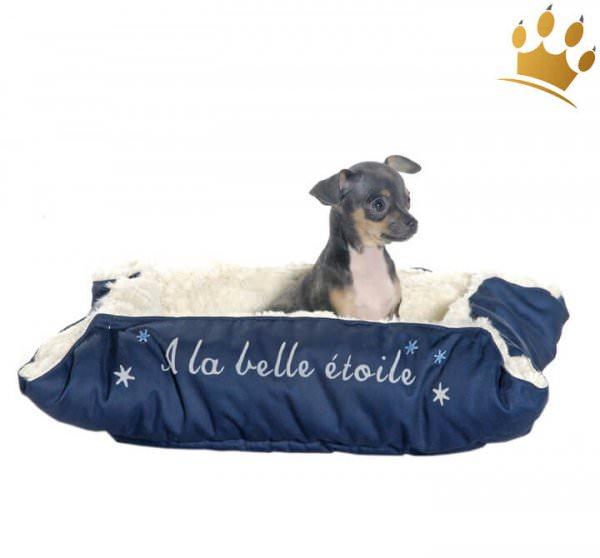 Hundebett 2 in 1 La Belle Blau