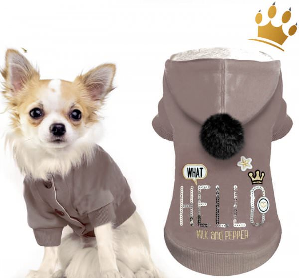 Milk & Pepper Hundesweater Pop Up
