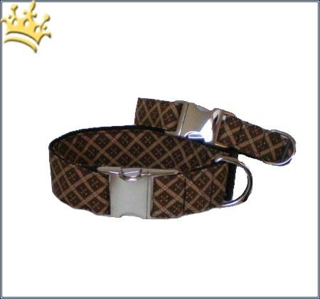 Hundehalsband Louise Macchiato