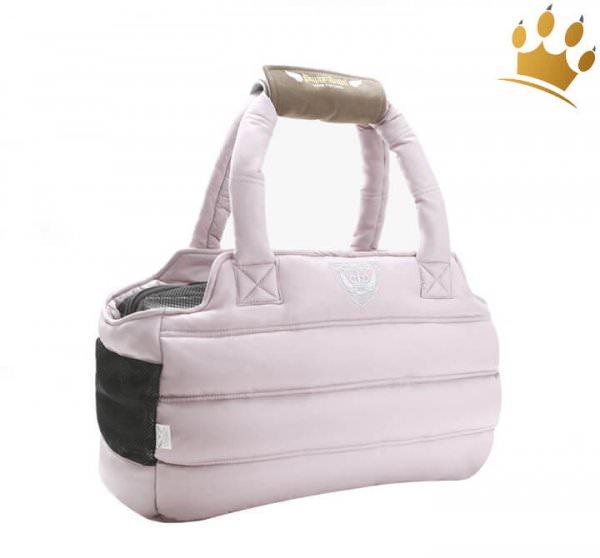 Puppyangel Hundetasche Love Down Zip Padding Pink