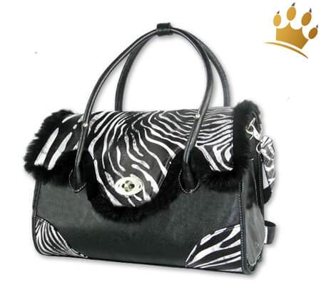Wild Zebra Hundetasche