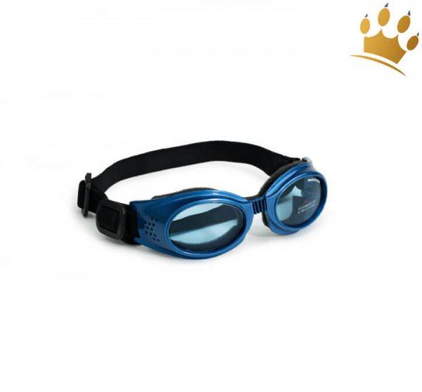 Doggles® Originalz Hunde-Sonnenbrille Blau Metallic