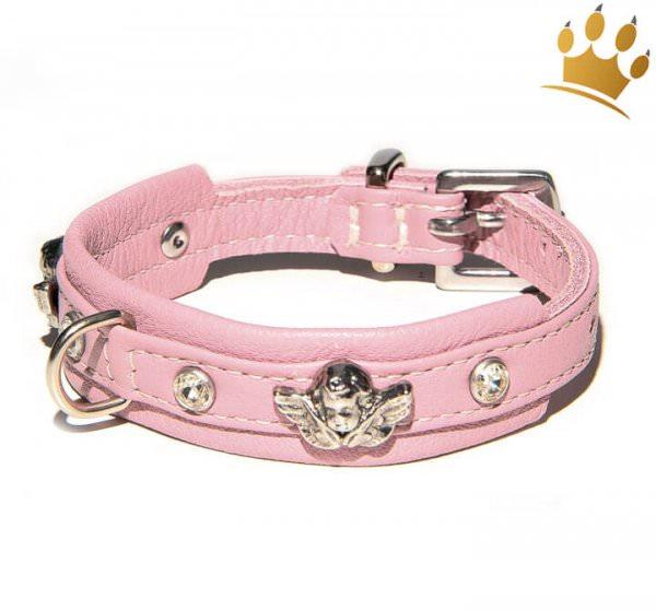 Hundehalsband Angel Petite Rosa