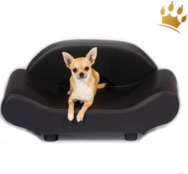 Hundebett Home Lounge Black
