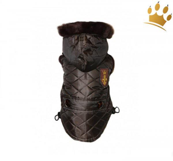 Hundemantel Furry Deluxe Braun