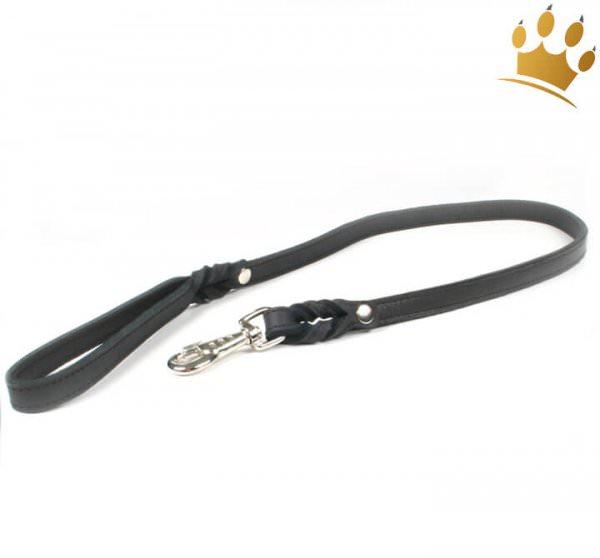 Hundeleine Silver Black 100cm
