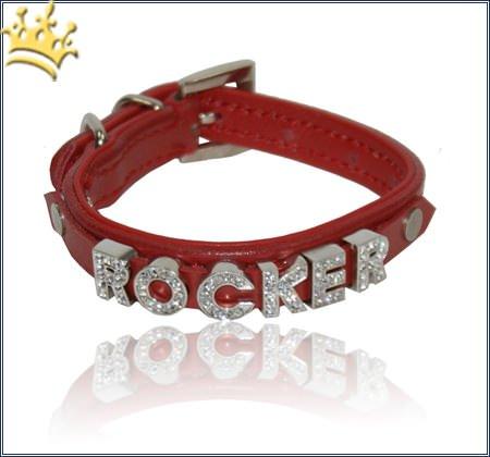 Namenshalsband Dog Rot
