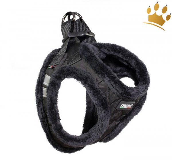 Step In Hundegeschirr Chiara Diamond Schwarz