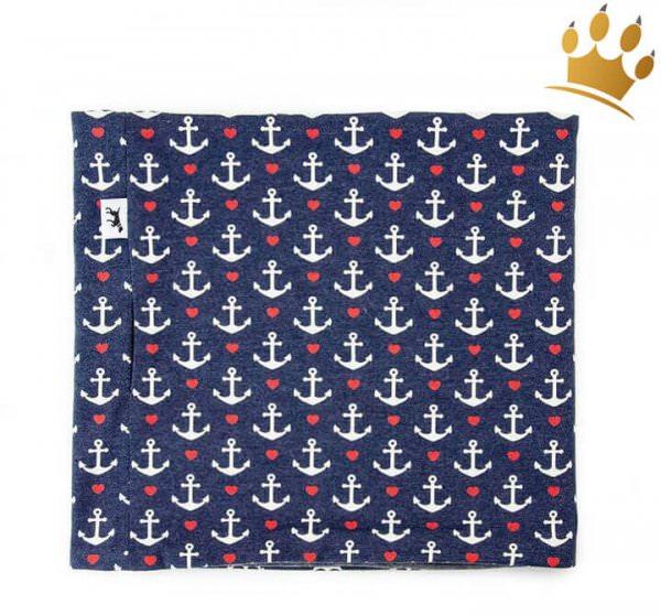 Duftmarke Hunde-Loop Seehund Blau