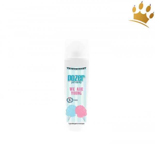 Pozer Pet Vanity We are Young Shampoo No.5 tiefenreinigend 300 ml