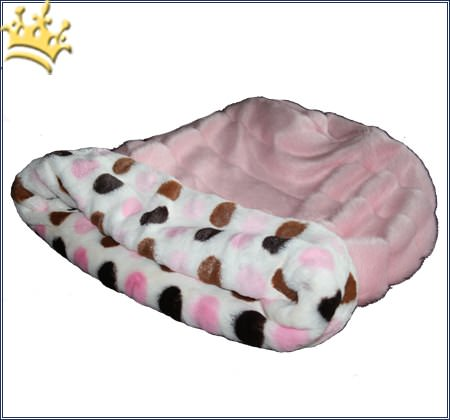 Hunde Cuddel Cup Dots Pink