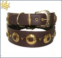 Halsband Concha Brown
