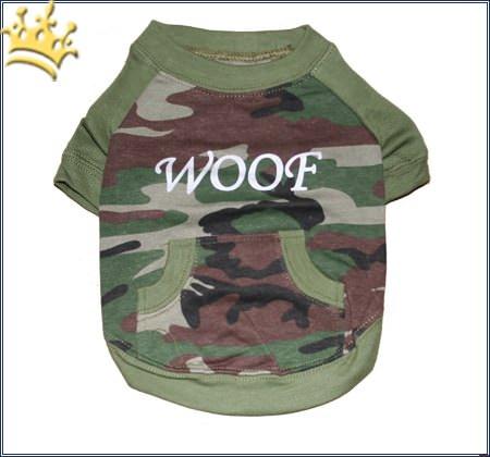 Hunde-T-Shirt Woof