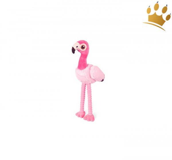 Hundespielzeug Flamingo