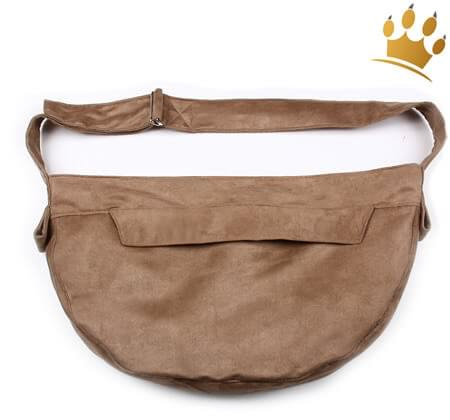 Hundetasche Cuddle Faux Toffee