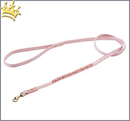 Hundeleine Dosha Dog Mini Beads Rosa