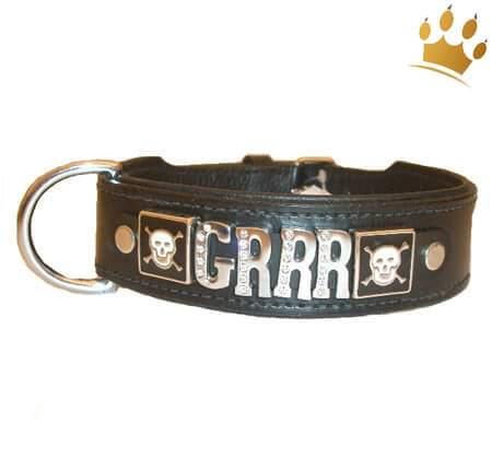 Hundehalsband GRRRR
