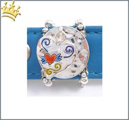 PuP-PuP TM Cha Cha's Tatoo Heart Dangle