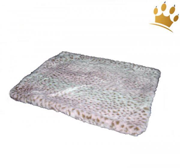 Hunde Cuddle Plaid Leo Pink