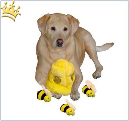 Hundepuzzle Such die Biene