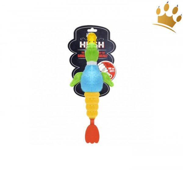 Hundespielzeug Hush Plush Ente