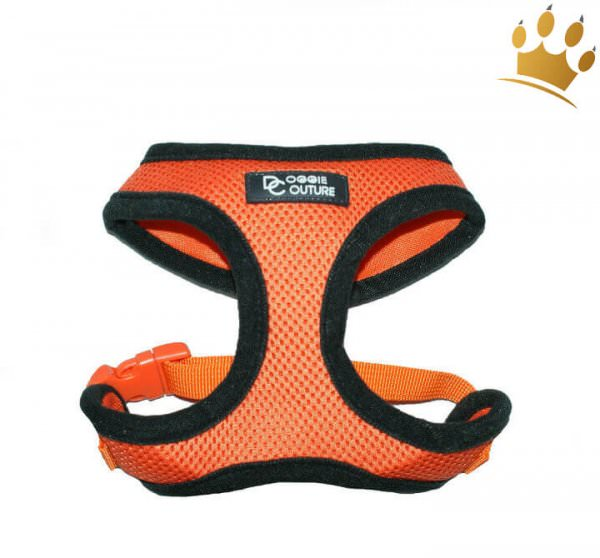 Hunde-Softgeschirr Summer Mesh Orange