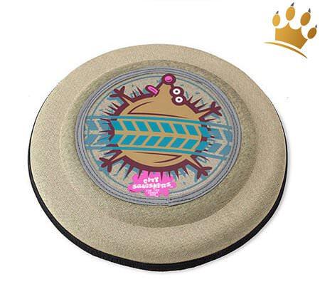 Hunde-Frisbee Crazy Igel