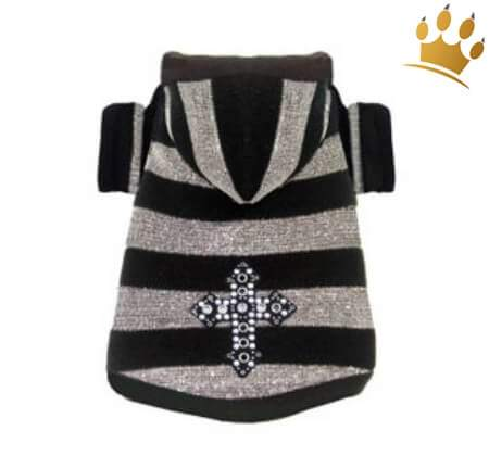 Hundesweater Silver Goth