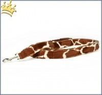 Fell-Leinen Giraffe Cognac