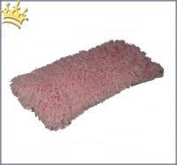 Hunde Carrier Plaid Pink Fur Shag