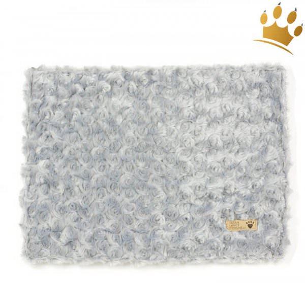 Hunde Cuddle Plaid Curly Grey