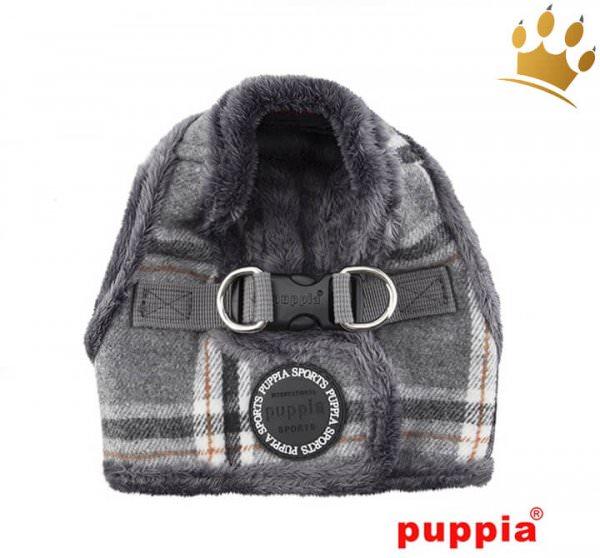 Puppia Step-In Geschirr Kemp Grey