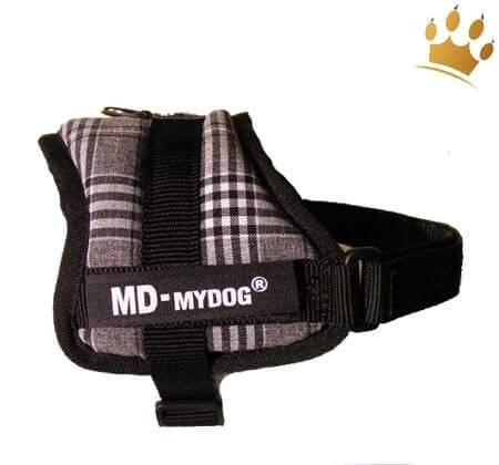 MyDog Hundegeschirr Black & White