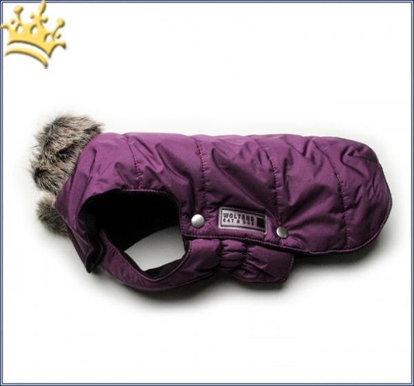 Hundeparka Saas-Fee Mops & Co. Pflaume