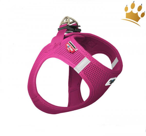 Curli© Vest Softgeschirr Air-Mesh Fuchsia