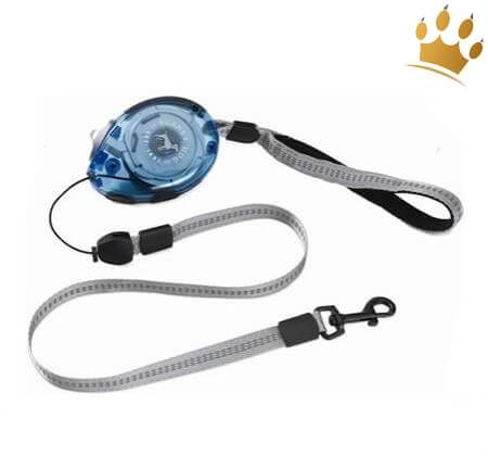Planet Dog Zip Lead Retractable Leine Blau