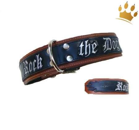 Hundehalsband Rock the Dog