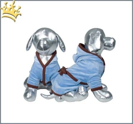 Hundebademantel Sweet Spa Blau